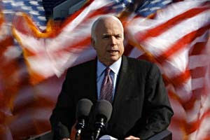 McCain in the coalition government will invite Hillary Clinton?