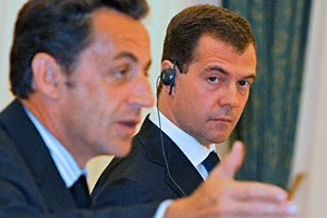 Sarkozy's visit to Russia «rift» Europe