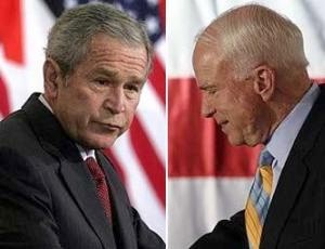 George Bush and John McCain concealed from the Americans the truth about the war in South Ossetia