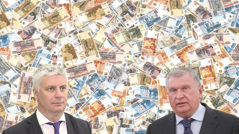 Does Vashchenko know where Sechin's money is?
