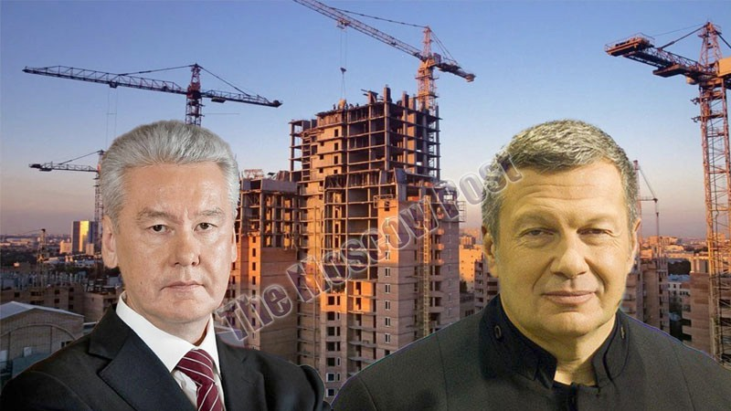 "TV presenter Vladimir Solovyov ""to cash in"" on the Moscow's budget under the vigilant control of the mayor Sergei Sobyanin?"
