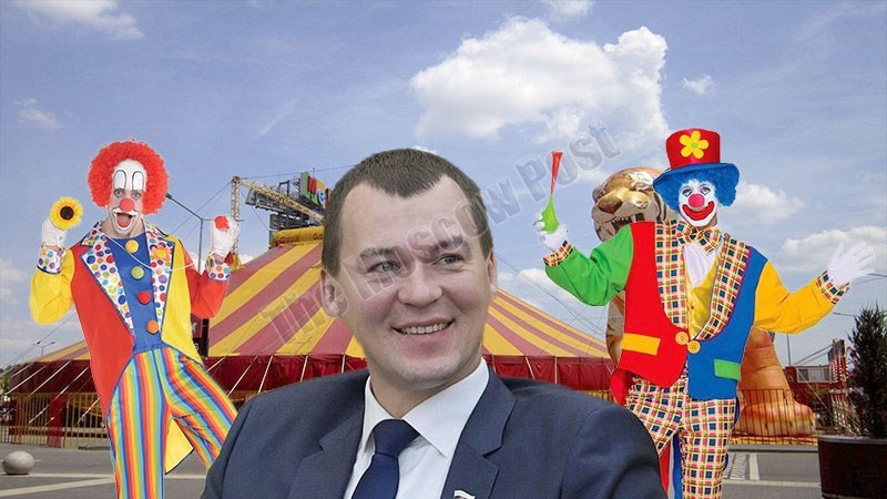 Degtyarev arrives, circus remains