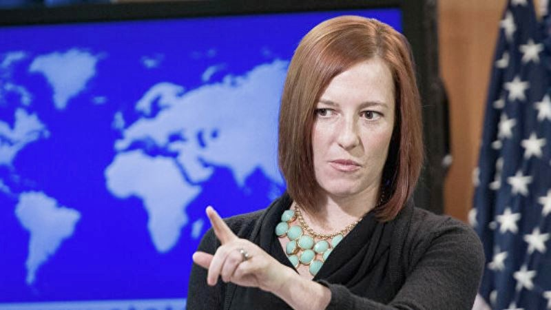 "Instead of ""insanity"" Psaki"