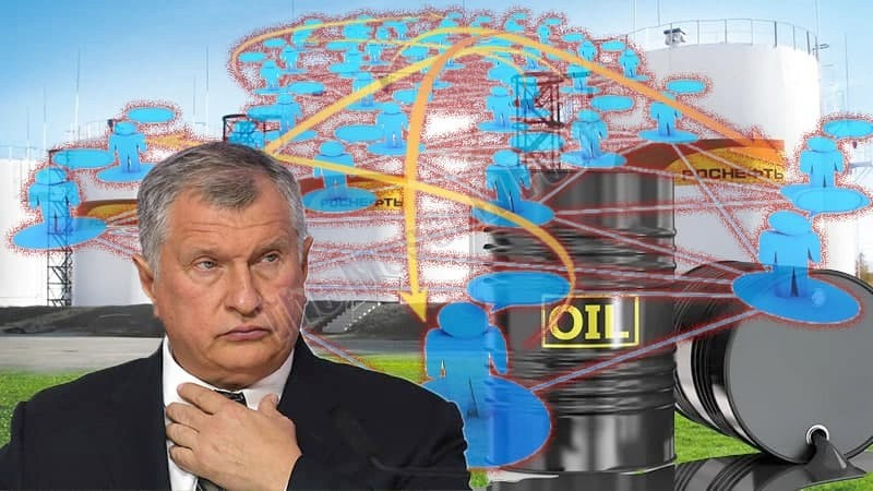 Sechin's oil goes through Cyprus in English way