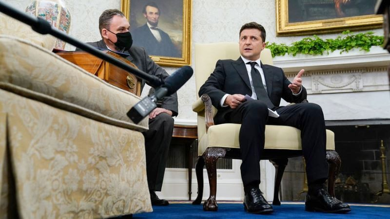 """Zelensky """"confused"""" his office with KVN"""